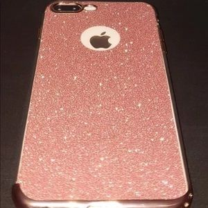 Accessories - 💕✨Pink Glitter IPhone Case for 7/8 Plus ✨💕